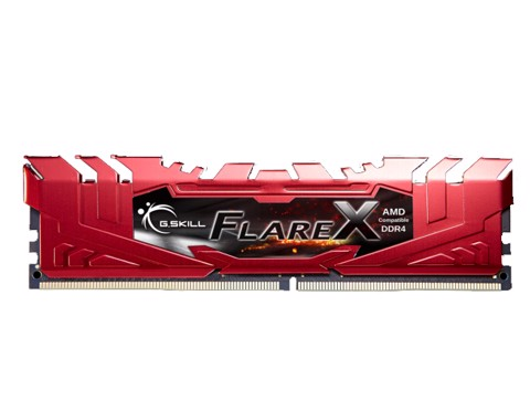 ( 8G DDR4 1x8G 2400 ) G.SKILL Flare X - For AMD