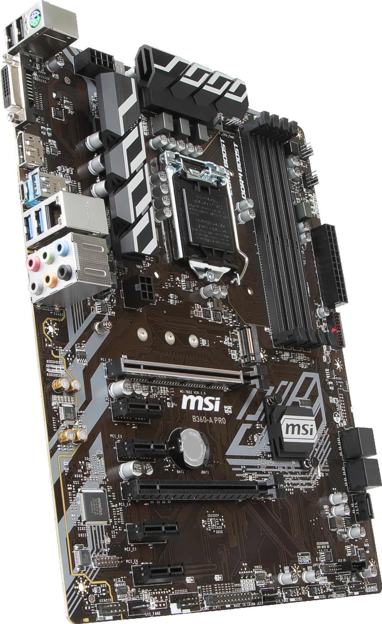MSI B360-A PRO LGA1151v2