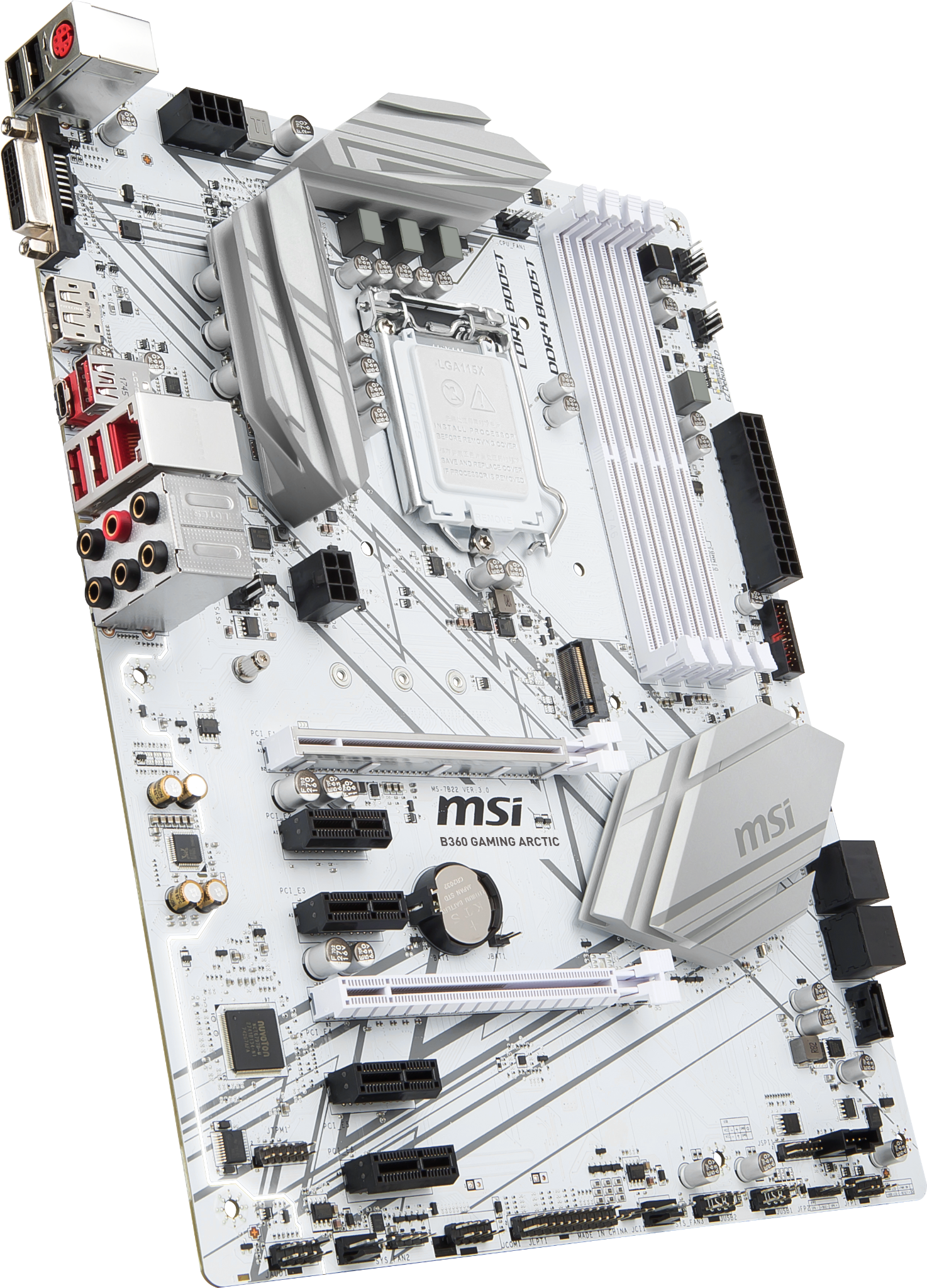 MSI B360 GAMING ARCTIC LGA1151v2