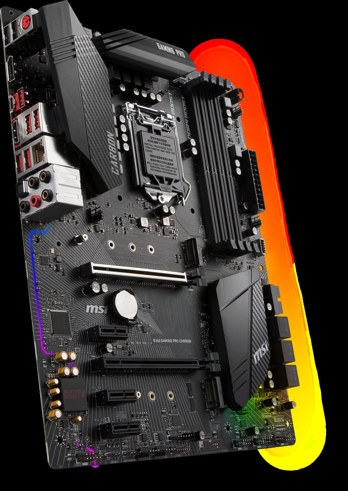 MSI B360 GAMING PRO CARBON LGA1151v2