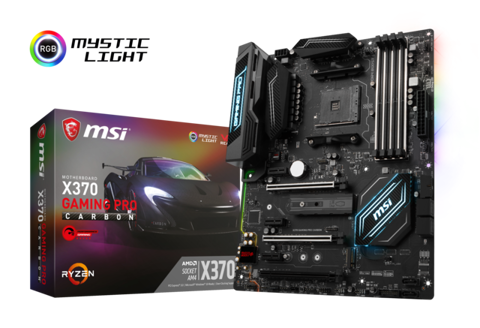 MSI X370 GAMING PRO CARBON (AMD Socket AM4)