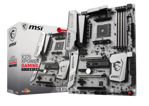 MSI X370 XPOWER GAMING TITANIUM (AMD Socket AM4)