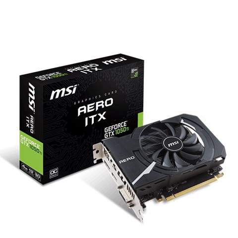 MSI GeForce® GTX 1050 Ti AERO 4GB GDDR5 128bit