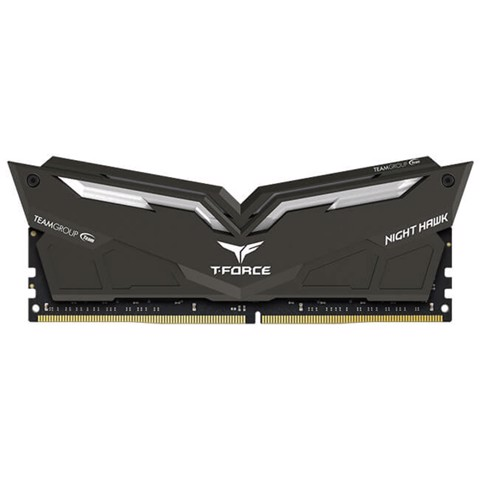 (8GB DDR4 1x8G 3000) TFORCE NIGHT HAWK RGB GAMING BLACK/White