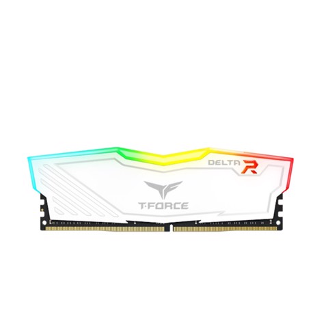 (8GB DDR4 1x8G 3000) TFORCE DELTA RGB BLACK/White