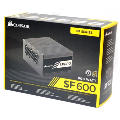 ( 600W ) Corsair SF Series SF600 - 600W 80 PLUS Gold
