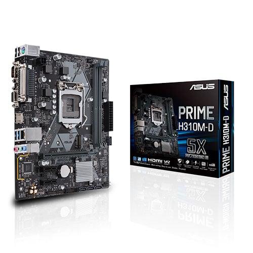 Asus Prime H310M-D LGA1151v2
