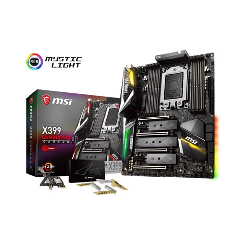 MSI X399 Gaming Pro Carbon AC (AMD Socket AM4)