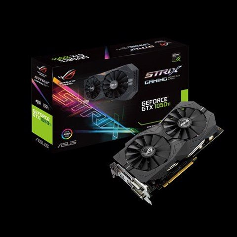 Asus ROG Strix GeForce® GTX 1050 Ti 4GD5 128bit