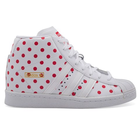 GIAYNAMNUNIKEADIDAS - S81378 - Giày Adidas Nữ Originals Superstar Up w White Red