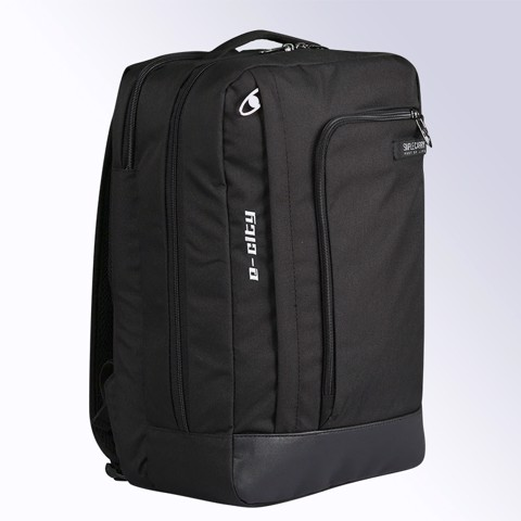 A-City Black Backpack