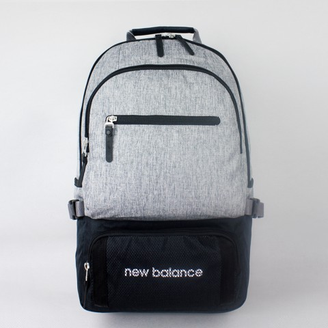 Two-Tone Round Backpack