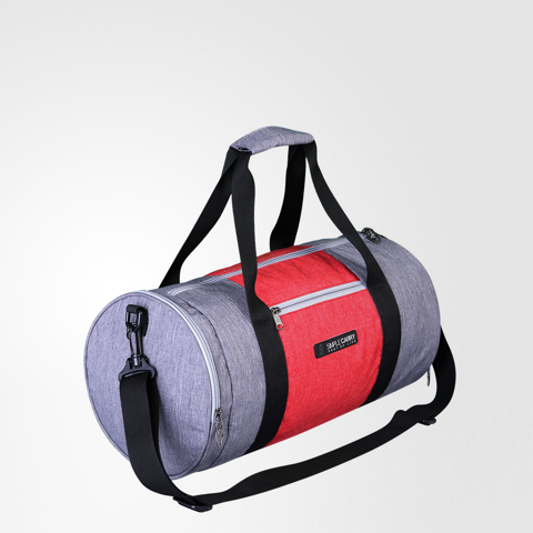 Gymbag Grey/Red