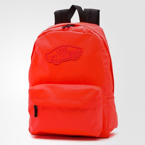 Realm Neon Coral Backpack