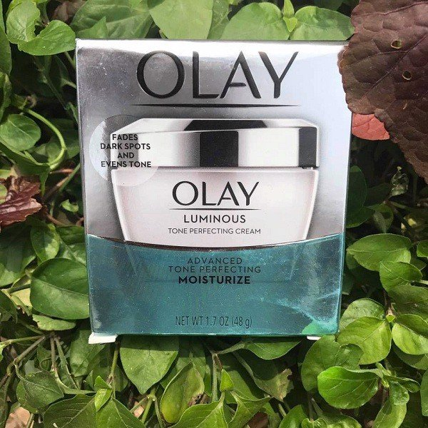 Olay Luminous Tone Perfecting Cream Face Moisturizer (Made in Usa) 50ml