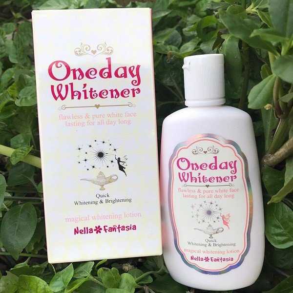 Dưỡng trắng Nella Fantasia Oneday Whitener Magical Whitening Lotion.