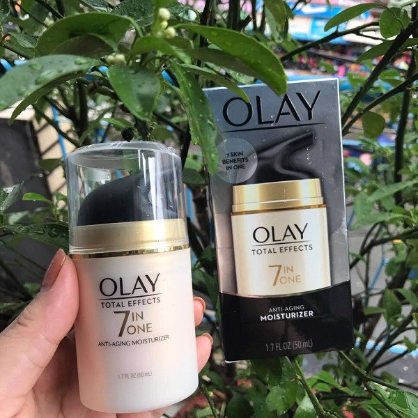 Olay Total Effects Anti-Aging Moisturizer.