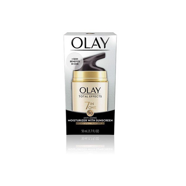 OLAY Total Effects Anti-Aging Daily Moisturizer SPF 30.