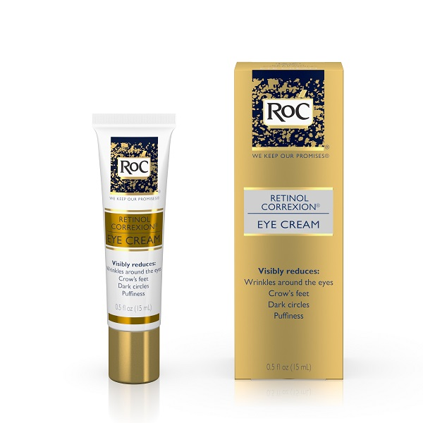 Kết quả hình ảnh cho Kem dưỡng mắt RoC Retinol Correxion