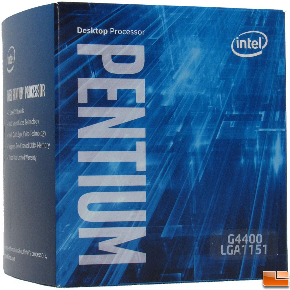 CPU Intel Pentium G4400 3.3G / 3MB / HD Graphics 510 / Socket 1151 (Skylake)