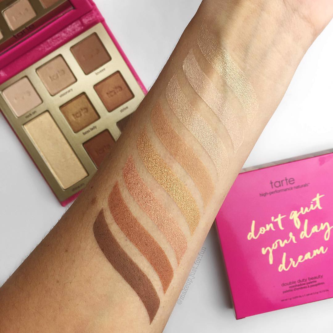Bảng màu mắt và highlight Tarte Don't quit your day dream