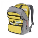 THE IVES BACKPACK DARK MOUSE GREY