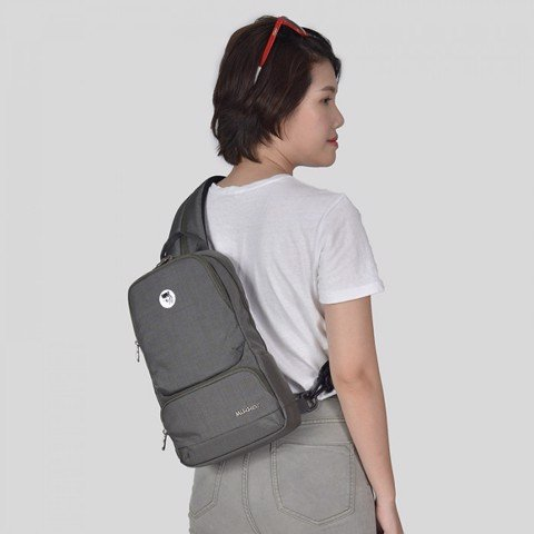 BALO THE BETTY SLINGPACK DARK MOUSE GREY