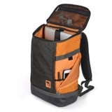 THE IRVIN BACKPACK CHARCOAL/ORANGE