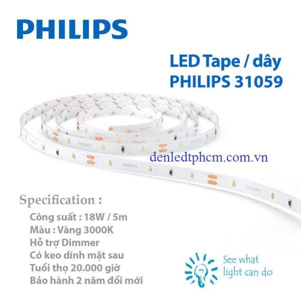 Led dây 31059 Philips