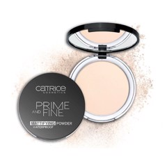 Phấn phủ Catrice Prime And Fine Mattifying Powder Waterproof