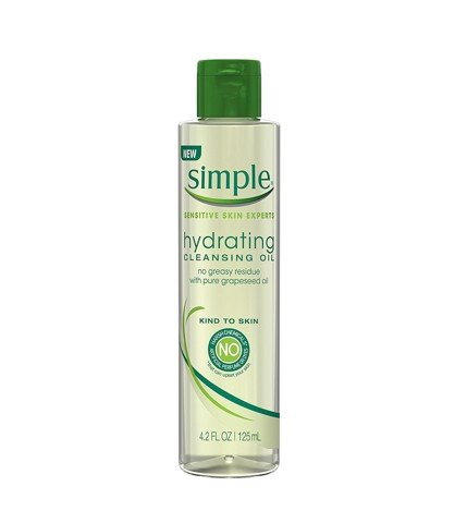 Dầu tẩy trang Simple Kind To Skin Hydrating Cleansing 125ml
