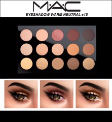 Bảng phấn mắt Mac Eye Shadow x 15/Warm Neutral