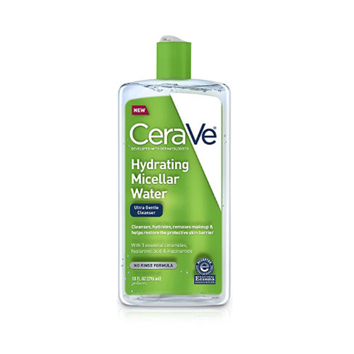 Tẩy trang Cerave Hydrating Micellar Water Ultra Gentle Cleanser 296ml