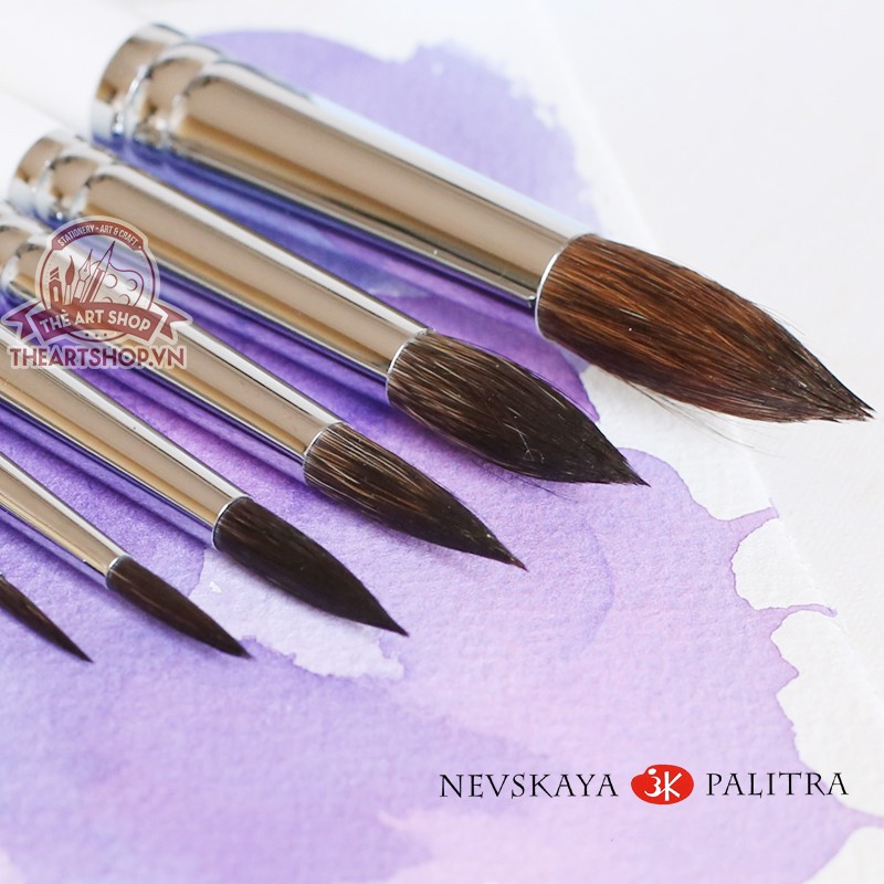 Cọ lông Sóc WHITE NIGHTS - NEVSKAYA PALITRA WHITE NIGHTS Squirrel Brush
