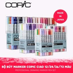 Bộ marker COPIC Ciao 24/36/72 màu - COPIC Ciao Marker Set 24/36/72 colors