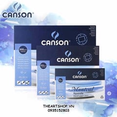 Sketchbook CANSON Montval 300gsm - Made in France