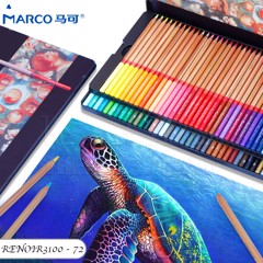 Chì màu MARCO 72 màu - MARCO Renoir 72 Color Pencils