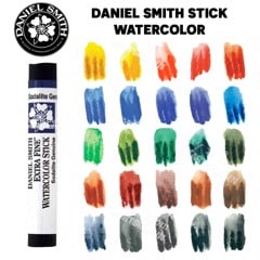 Màu nước DANIEL SMITH dạng stick (Bán lẻ) - DANIEL SMITH Watercolour Sticks (Retail) 2.4ML/12ML