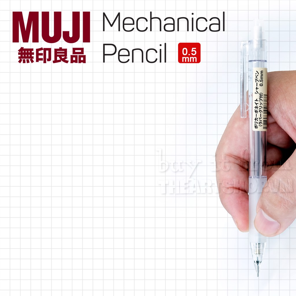 Chì bấm cơ khí MUJI - MUJI Mechanical Pencil 0.5mm