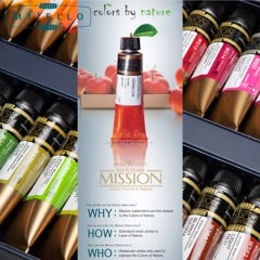 Màu nước MIJELLO MISSION Gold Class dạng tuýp (Bán lẻ) - MIJELLO MISSION Gold Class Watercolor 15ml (Retail)