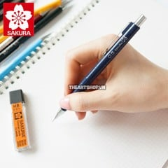 Chì bấm cơ khí SAKURA 0.5mm - SAKURA Mechanical Pencil 0.5mm