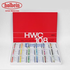 Bộ màu nước HOLBEIN 108 màu - HOLBEIN Artists Watercolor Set 108-Tube 5ml