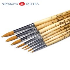 Cọ lông tổng hợp SONNET Synthetic - NEVSKAYA PALITRA SONNET Synthetic Brush