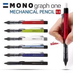 Chì bấm cơ khí TOMBOW 0.5mm - TOMBOW Mono Graph One Mechanical Pencil 0.5mm