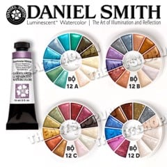 Bộ Pocket màu nước DANIEL SMITH - DANIEL SMITH Luminescent Pocket Watercolor 0.6ml