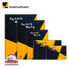 Sổ vẽ lò xo MARUMAN - MARUMAN ZUAN Sketchbook (Made in Japan)