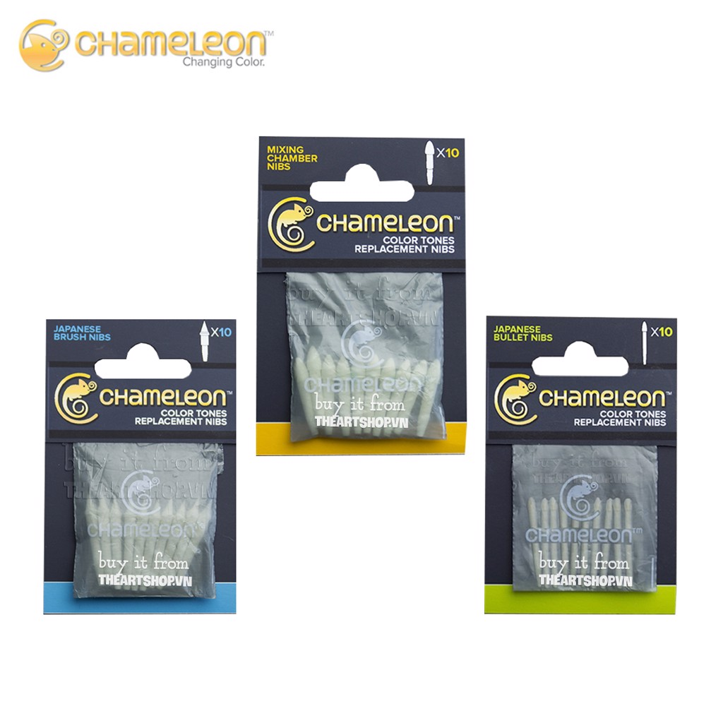 Ngòi CHAMELEON - CHAMELEON Replacement Nibs - 10 pack