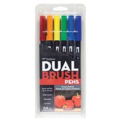 Bút marker TOMBOW Set 6 cây - TOWBOW ABT Dual Brush Pens Set