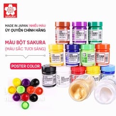 Màu bột SAKURA - SAKURA Poster Color 30ml