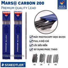 Ruột chì 2mm STAEDTLER - STAEDTLER Mars® Carbon 200 Pencil Lead